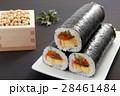 恵方巻き 巻き寿司 大豆の写真 28461484