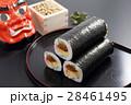 恵方巻き 巻き寿司 節分の写真 28461495