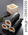 恵方巻き 巻き寿司 節分の写真 28461500