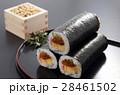 恵方巻き 巻き寿司 節分の写真 28461502