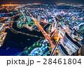 都市風景 横浜 夜景の写真 28461804