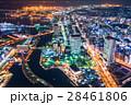 都市風景 横浜 夜景の写真 28461806