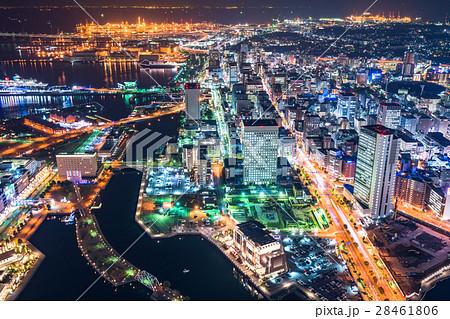 【神奈川県】横浜・ベイエリアの夜景 28461806