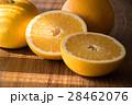 八朔 カット 柑橘類の写真 28462076