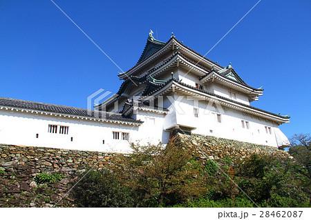 晴天の和歌山城天守と天守曲輪 28462087