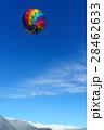 白馬 気球 熱気球の写真 28462633