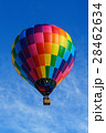 白馬村 気球 熱気球の写真 28462634