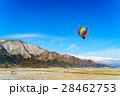 白馬村 気球 熱気球の写真 28462753
