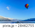 白馬村 気球 熱気球の写真 28462755