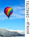 白馬村 気球 熱気球の写真 28462781
