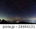 山中湖・石割山から見る富士山と星空 28464131