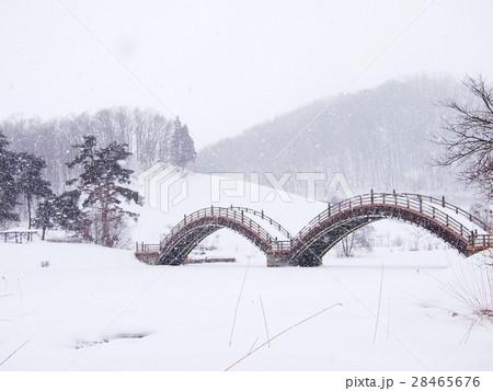 冬のめがね橋 28465676