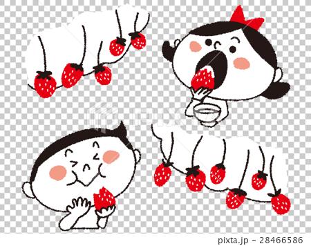 strawberry picking, strawberries, strawberry 28466586