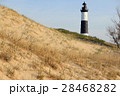 Big Sable Point Lighthouse in dunes, built in 1867 28468282