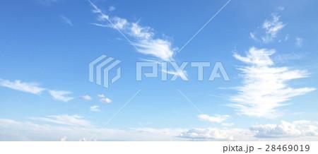 Blue sky white clouds fresh air nature 28469019