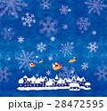 クリスマス サンタクロース トナカイのイラスト 28472595