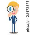 ベクター 虫眼鏡 探すのイラスト 28472875