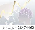 ネットワーク デジタル テクノロジーのイラスト 28474462