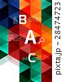 抽象的 背景 ベクターのイラスト 28474723