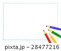 色鉛筆と紙 28477216