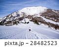 雪化粧の伊吹山 28482523