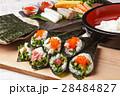 手巻き寿司 海苔巻き 寿司の写真 28484827