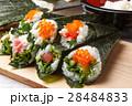 手巻き寿司 海苔巻き 寿司の写真 28484833