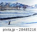 南魚沼 谷川岳 冬景色 28485216