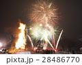 秋田県大仙市 太田の火まつり 花火と天筆 28486770