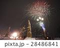 秋田県大仙市 太田の火まつり 花火と天筆 28486841
