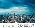 夜景 都会 ビル群の写真 28488117
