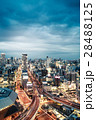 夜景 都会 ビル群の写真 28488125