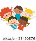 子供 仲良し 友達のイラスト 28490576