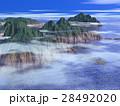 海と断崖~薄雲 28492020