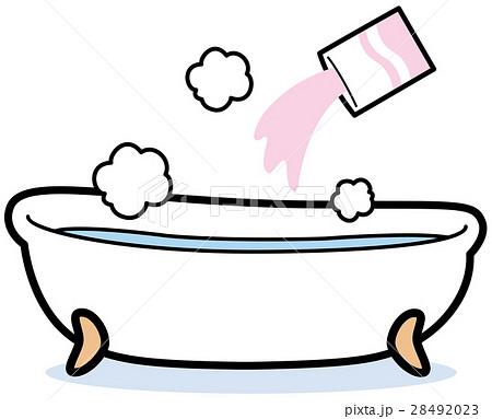 入浴剤のイラスト素材 28492023 Pixta