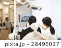 レントゲン モニター 医療の写真 28496027