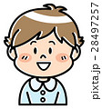 人物 男の子 園児のイラスト 28497257