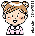 人物 女の子 園児のイラスト 28497548