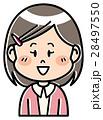 人物 子供 女の子のイラスト 28497550