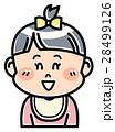 人物 女の子 赤ちゃんのイラスト 28499126
