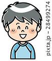 人物 男の子 小学生のイラスト 28499274