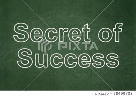 Finance concept: Secret of Success on chalkboard 28499708