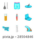 スイミング 水泳 サーフボードのイラスト 28504846
