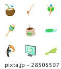 観光 ブラジル アイコンのイラスト 28505597