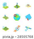 GPS アイコン セットのイラスト 28505768