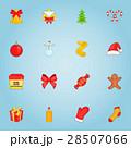 クリスマス アイコン ベクトルのイラスト 28507066
