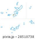 那覇市と沖縄県地図 28510738