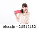 若い女性、お財布 28512132