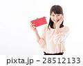 若い女性、お財布 28512133