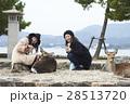 宮島 女子旅 観光 鹿 28513720